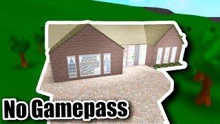 Petite Maison De famille - GAMEPASS GRATUIT - Roblox - Bloxburg (60K)