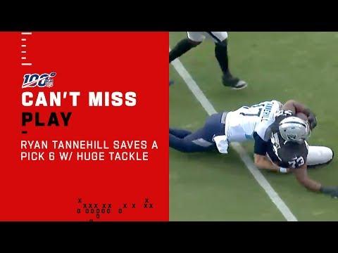 Download Ryan Tannehill Saves His Own Pick 6 w/ a Huge Hit! Mp4 baru