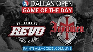 2015 Dallas PSP - Saturday Paintball Game of the Day - Revo vs. Ironmen