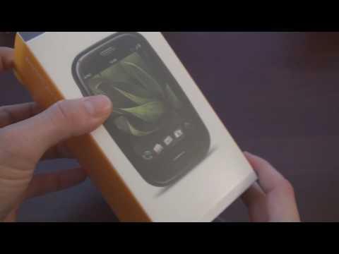 AT&T Palm Pre Plus Unboxing