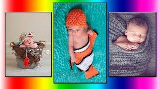 Модели вязания.Вязаные идеи для фотосессии малыша.