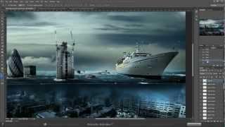 Speed art: London / Лондон - Photoshop CS 6