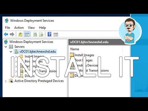 Install Windows Deployment Services   Windows Server 2019