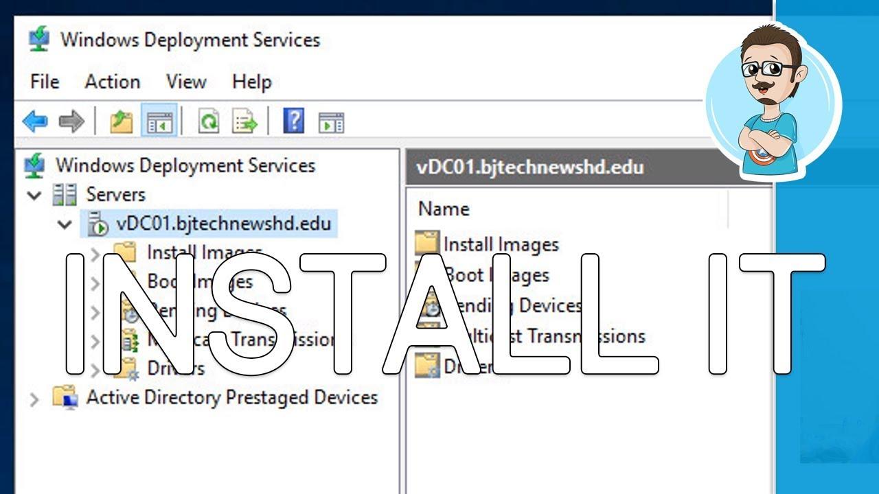 Install Windows Deployment Services | Windows Server 2019 | Create a  Windows Image Tutorial - Part 6