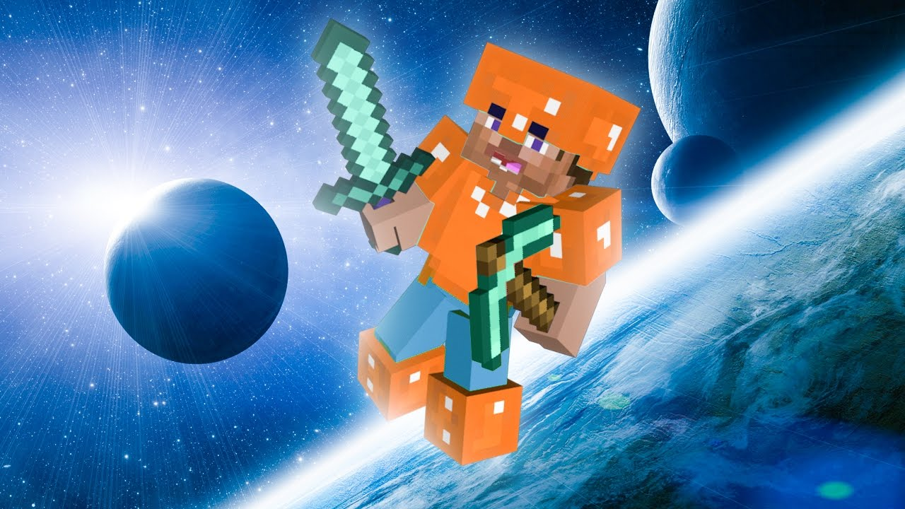 MINECRAFT IN SPACE! - YouTube