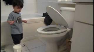 Laughing Baby - Toilet Seat