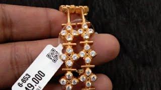 ఏన్ని గాజుల మోడల్స్ వున్నాయో 😱,92.5 Silver jewelry with gold coating, Bangles, Long chains, Ramala