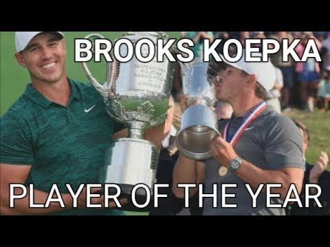 BROOKS KOEPKA - PLAYER OF THE YEAR