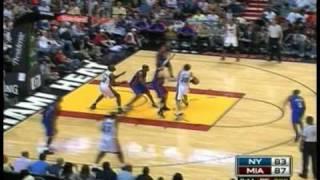 Michael Beasley Complete Highlights [28 Points,16 Rebounds] vs Knicks 12.4.09 [Both Carreer Highs]
