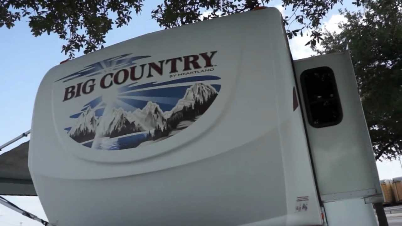 Heartland Big Sky Bunkhouse Rv 3 Slides 50 Amp Service Dual A C For Sale In Texas