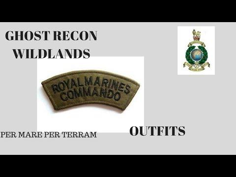 Ghost recon wildlands royal marines commandos outfits