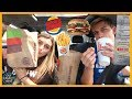 LETTING DRIVE THRU EMPLOYEES DECIDE WHAT WE EAT FOR $30!