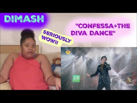 Dimash-Confessa+The Diva Dance Reaction REALLY