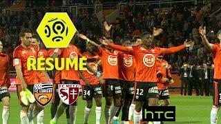 FC Lorient - FC Metz (5-1)  - Résumé - (FCL - FCM) / 2016-17