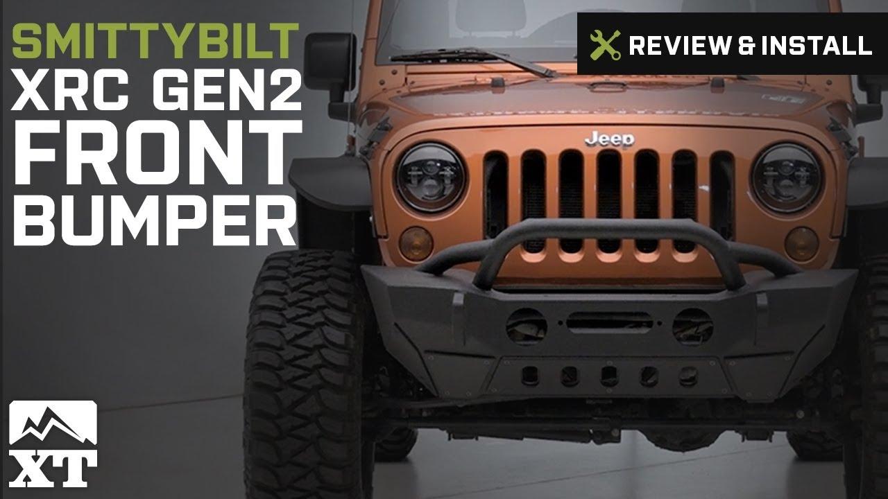 Jeep Wrangler Smittybilt Xrc Gen2 Front Bumper 2007 2017 Jk Review Winch Wiring