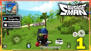 Sausage Man Gameplay (Android, iOS) - Part 1 screenshot 2