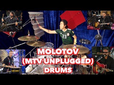 Molotov | Drum Cover | Here We Kum (MTV Unplugged) | Hugo Zerecero