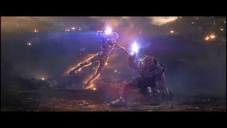 Captain Marvel vs Thanos // Thanos Almost Snap | Avengers: Endgame [Blu-Ray HD]