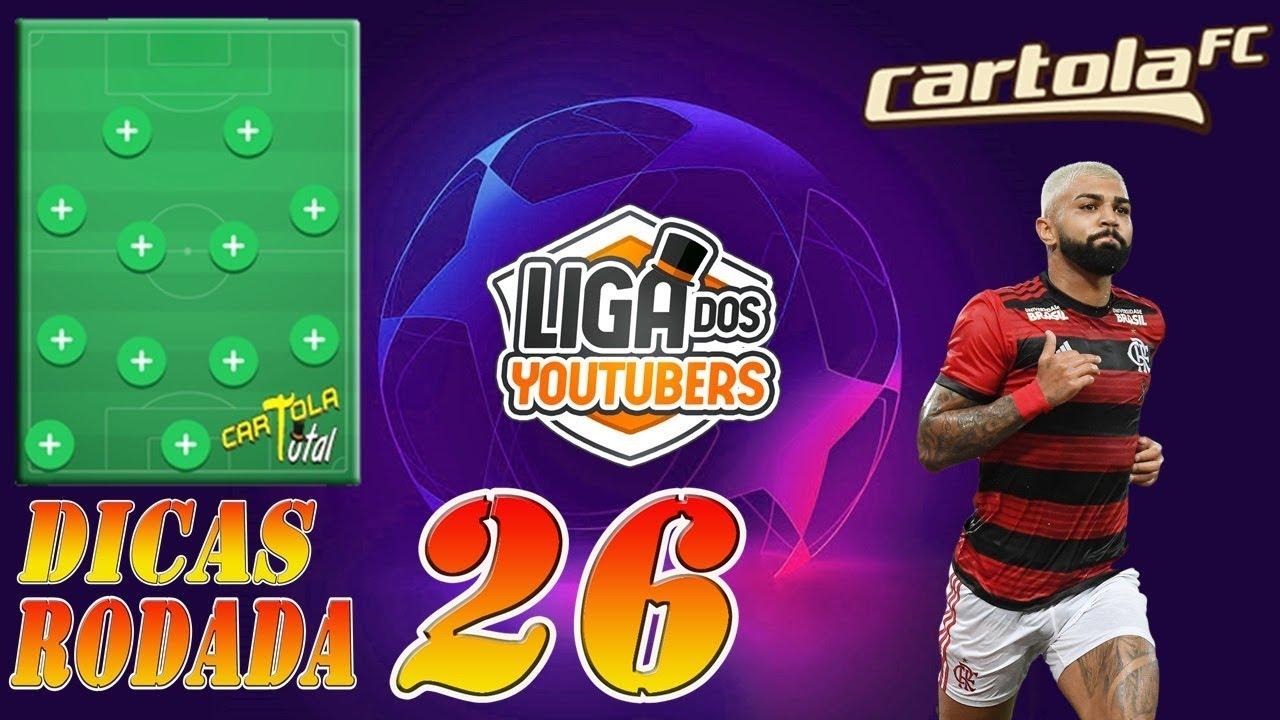 DICAS RODADA 26 - CARTOLA FC 2019