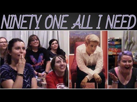 NINETY ONE - ALL I NEED MV REACTION