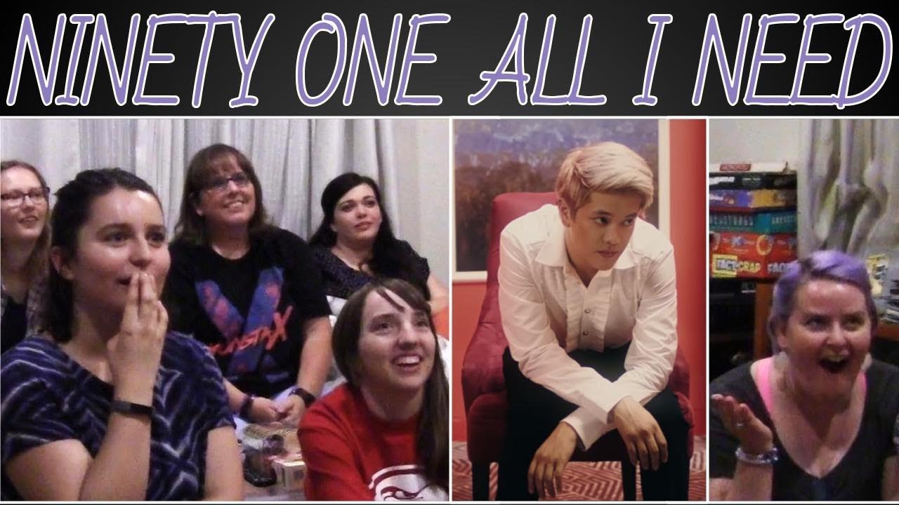 Download NINETY ONE - ALL I NEED MV REACTION