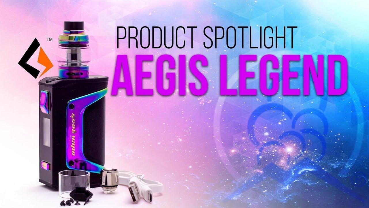 Geekvape Aegis Legend ~ Vape Kit Review   WATER PROOF Box Mod!
