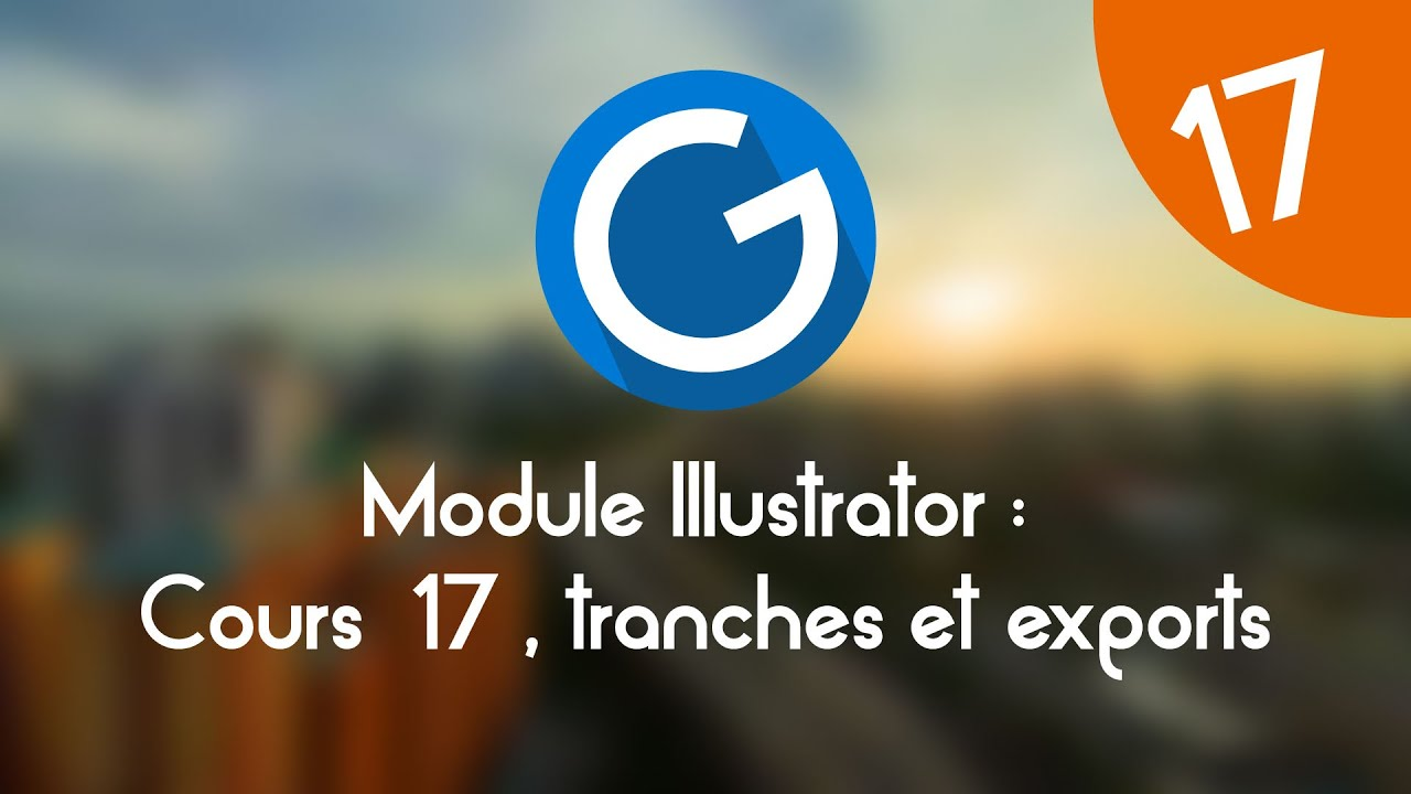 Download Formation IMM - Module Illustrator : Cours tuto 17, outil tranche et export