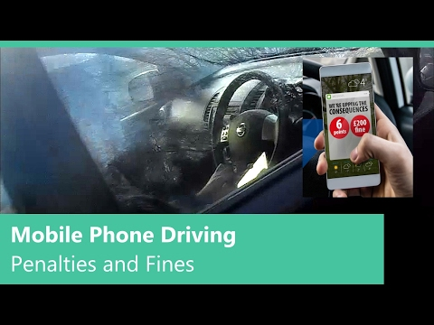 Mobile Phone Driving - Penalties and Fines