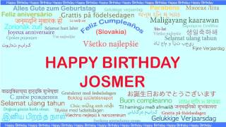 Josmer   Languages Idiomas - Happy Birthday