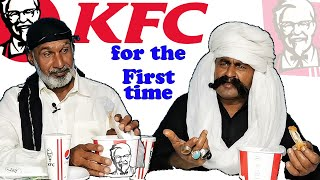 Tribal People Try KFC for the First Time