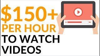 Earn $150 in 1 Hour By Just WATCHING VIDEOS! (Make Money Online)