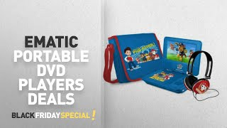 Walmart Top Black Friday Ematic Portable Dvd Players Deals: Paw Patrol 7