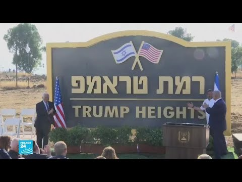 نتانياهو يدشن مستوطنة باسم دونالد ترامب في الجولان المحتل  - نشر قبل 4 ساعة