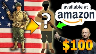 """🇺🇲We made a """"WW2 US Uniform"""" from Amazon for Halloween!"""