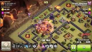 ATOMIC WARLORD MAXED TH10 3 STAR - LAVALOONIAN