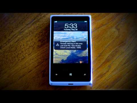 Emergency Alerts for Your Cell Phone