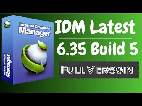 IDM Latest   Internet Download Manager 6.35 Build 5 Full Version Lifetime Patch