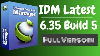 Gambar cover IDM Latest | Internet Download Manager 6.35 Build 5 Full Version Lifetime Patch