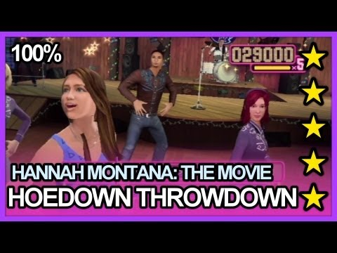 Hannah Montana The Movie: The Game - Hoedown Throwdown 100% 5 Stars