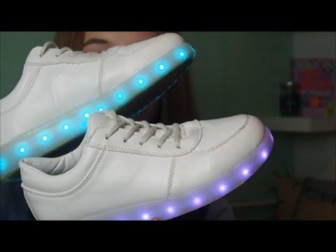 b6932d6b TESTUJEMY #2| Świecące buty LED 👟 - YouTube
