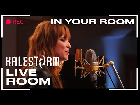 "Halestorm - ""In Your Room"" captured in The Live Room"