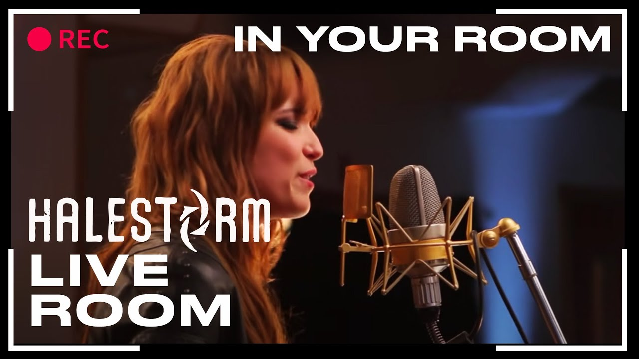 halestorm in your room captured in the live room youtube