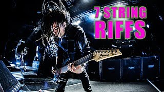 7 Heavy Guitar Riffs That Will Make You Want To Buy A 7 String Guitar