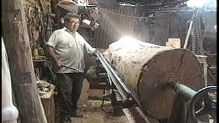 Repeat youtube video Arte en Torno - Torneado de columna en madera
