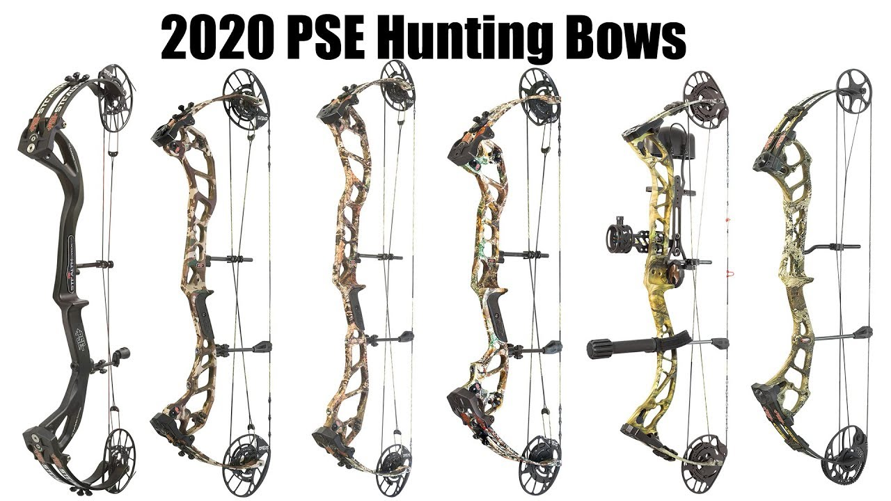Best Compound Bow 2020.2020 Pse Hunting Bow Lineup Preview