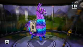 Fortnite regular upgrade llama gave me a legandary without upgrading to silver or gold pt 2of2