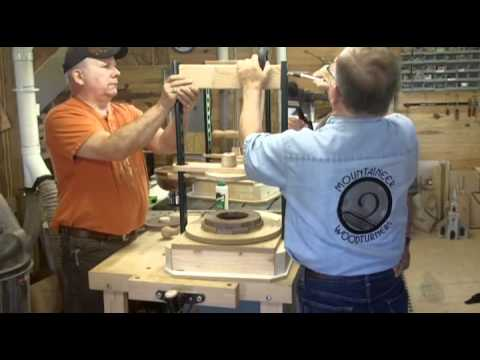 Helping You Make a Segmented Bowl Press, Presented by Woodcraft