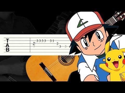 Atrapalos ya! / Pokemon / Guitarra Tutorial / Tablatura