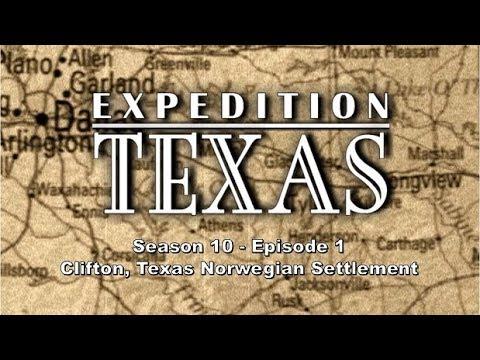 Expedition Texas 1001 - Clifton Norwegian Settlement Part 1