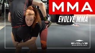 MMA: UFC World Champion Miesha Tate Teaches How To Secure A Takedown